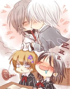 Seeing to much yaoi