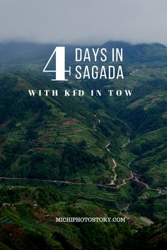 Michi Photostory: 4 Days in Sagada with a Kid in Tow