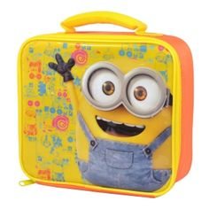 Despicable Me Lunch Bag Minions Official Merchandise Minions, My Minion, Lunch Box Bento, Sac Lunch, Lunch Bags, Bape, Swing Tags, Childrens Gifts, Despicable Me