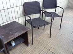 We will replace this furniture so parents have somewhere relaxing to sit whilst children play outside