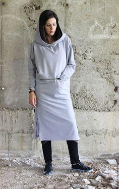 Купить Спортивное пальто B0031 - серый, серый топ, женское пальто, одежда для полных женщин