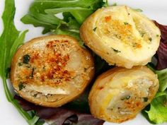 fonds d'artichaut gratinés Weight Watchers,un bon petit plat à base de fonds d'artichaut farcis au jambon et parmesan, très facile à préparer.