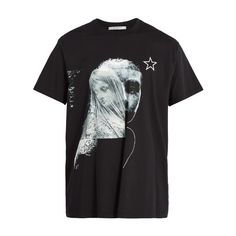 Givenchy Columbian-fit statue-print cotton T-shirt (575 CAD) ❤ liked on Polyvore featuring men's fashion, men's clothing, men's shirts, men's t-shirts, black, mens short sleeve t shirts, mens crew neck shirts, givenchy mens t shirt, mens print shirts and mens short sleeve shirts