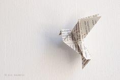 Die Raumfee: Vogel-Mobilé / Bird Mobilé