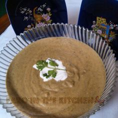 Creamy Lentil Soup recipe. A soup with a rich texture and lovely aroma.