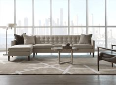American Leather Sofa