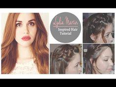 Lydia Martin Inspired Hair Tutorial | 3 Hairstyles