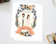 Summer Mint Julep Wedding Invitation Suite /// by heartandfox