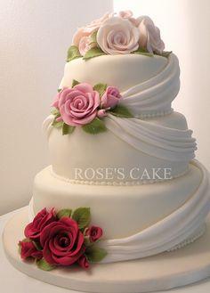 wedding cakes - perfect wedding #wedding #cakes