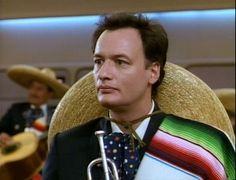 #STARFLEET INTELLIGENCE: #Q as a trumpet player of a mariachi band | #StarTrek