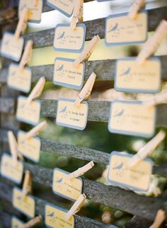 Best Place Card Ideas, Wedding Invitations Photos by 39 East Photography