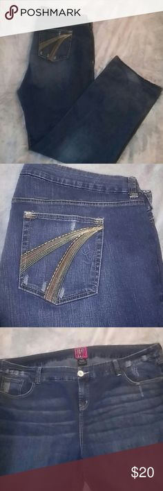 f20ca601c62 Torrid Jeans Very good condition. Size 28. Long. torrid Jeans Straight Leg  Torrid