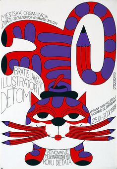 Cats in Art and Illustration: by Ondrej Zimka, 1979