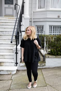 Learn how to style an all black outfit!