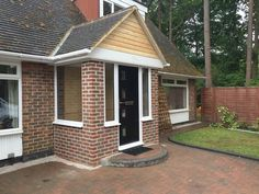 Academy Windows - New Windows and Doors in Reading, Berkshire Porch Uk, House Front Porch, Porch Doors, Front Porch Design, Porch Entry, Front Door Entrance, Front Entrances, Front Porch Pictures, Small Front Porches