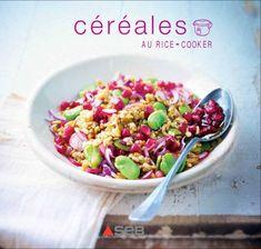 Céréales au rice-cooker  Riz complet, quinoa, boulgour, lentilles corail, pois-chiches, orge, petit épeautre, amarante, azukis, millet… partez à la découverte de ces céréales et légumineuses aux qualités nutritionnelles incomparables, et apprenez à les cuisiner en toute simplicité grâce à un rice-cooker. Réalisez en deux temps trois mouvements des salades, des plats complets et même des desserts équilibrés et sains.  Au menu : dal de lentilles corail et riz brun, riz wakamé sauce soja…