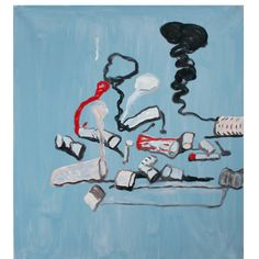 philip guston,  Untitled, 1978  oil on canvas  Mckee Gallery  91,4 X 81,3