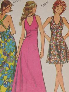 1970s Pattern. My mum made me several things from this very pattern!