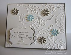elegant, simple wedding card