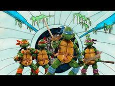 """Recreación mediante la técnica del Stop-Motion, de la intro de la serie """"Teenage Mutant Ninja Turtles"""""""