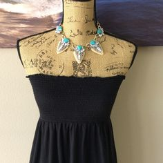 "OLD NAVY Strapless Sundress Perfect for the pool or the beach! A summer must have. 45"" from top to bottom. Old Navy Dresses"