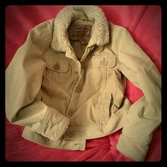 Aeropostale coat. Tan coat, good for the winter. In good condition no rips or stains Aeropostale Jackets & Coats