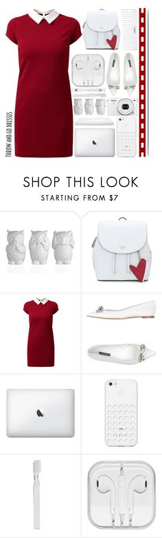 """""""Easy Outfitting: Throw-and -Go Dresses"""" by emcf3548 ❤ liked on Polyvore featuring Conair, Casadei, Black Apple, Nikon, Supersmile and shu uemura"""