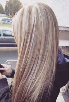 Perfect ashy blonde color