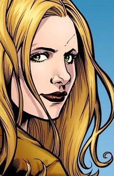 Buffy the Vampire Slayer Sarah Michelle Gellar, Charisma Carpenter, Michelle Trachtenberg, Alyson Hannigan, David Boreanaz, Comic Books Art, Comic Art, Book Art, Fanfiction