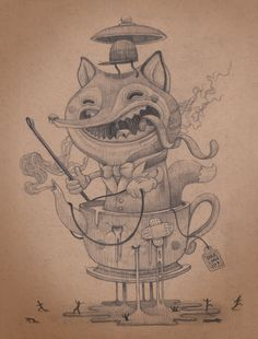 """Fox hunting"" by Antonio Segura Donat, via Behance"