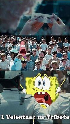 this year a new danger enters the stage sponge bob who will annoy every one to death