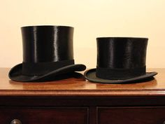 Scott and Co Edwardian Extra Quality Silk Top Hat with Hat Box