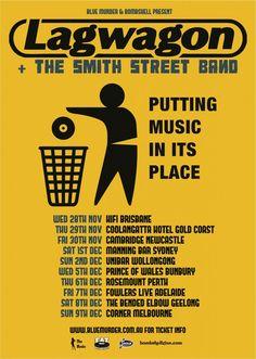 Lagwagon & The Smith Street Band!