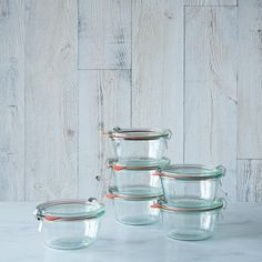 Weck Mold Jars (Set of 6),$32-$38,two sizes on Food52