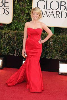 Melissa Rausch. 2013 Golden Globes.  Dress love. :)