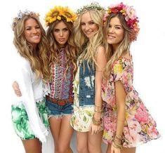 Hippie Style, Hippie Boho, Bohemian Style, Boho Chic, Bohemian Summer, Meghan Rienks, Candice King, Festival Looks, Festival Style