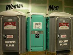 restrooms_porta_potty by Jungle Jim's International Market,