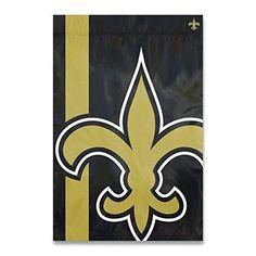 Nfl Saints Flag 2x3 Feet Football Themed Team Color Logo Outdoor Hanging Banner FlagGift FanFan Merchandise Athletic Spirit Gold Black Nylon