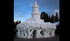 Idaho's #McCallWinterCarnival - Carved Forest.| #Idaho | Visitidaho.org