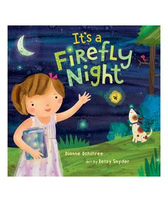 Love this It's a Firefly Night Hardcover on #zulily! #zulilyfinds
