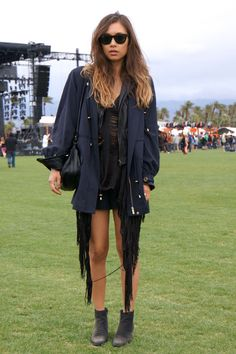 What to wear music festival rain