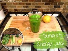 How To Make Tamera's Energy Juice
