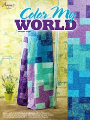 #Quilting - Color My World - quilt book