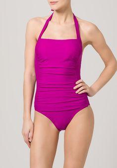 Bañador  de mujer color violeta rojizo de Lascana LASCANA ANNELIE Bañador fuchsia Ofertas en Zalando.es | Material exterior: 80% poliamida, 20% elastano | Ofertas ¡Haz tu pedido en Zalando.es y disfruta de gastos de enví-o gratuitos! #bañador #swimsuit #monokini #maillot #onepiece #bathingsuit