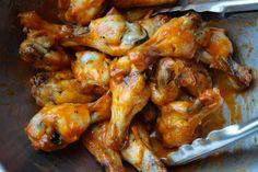 Baked Crispy Hot Wings // shutterbean