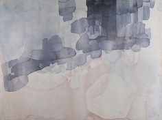 Eric Blum, Untitled No. 686 2013, Ink, silk, and beeswax on panel