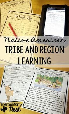 Lesson Ideas for learning the history of the Native Americans