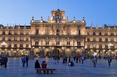 Plaza Mayor, Salamanca. Alberto Churriguera.