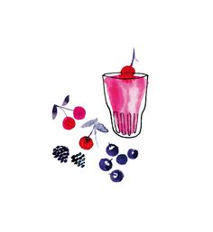 Miss Capricho - Berry smoothie