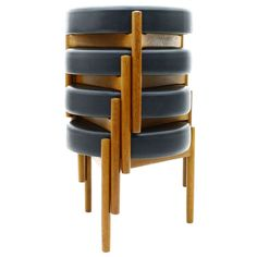 Danish Teak Stools   From a unique collection of antique and modern stools at http://www.1stdibs.com/furniture/seating/stools/